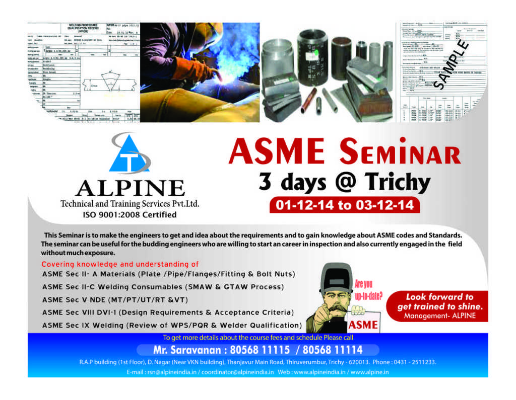 ASME awareness