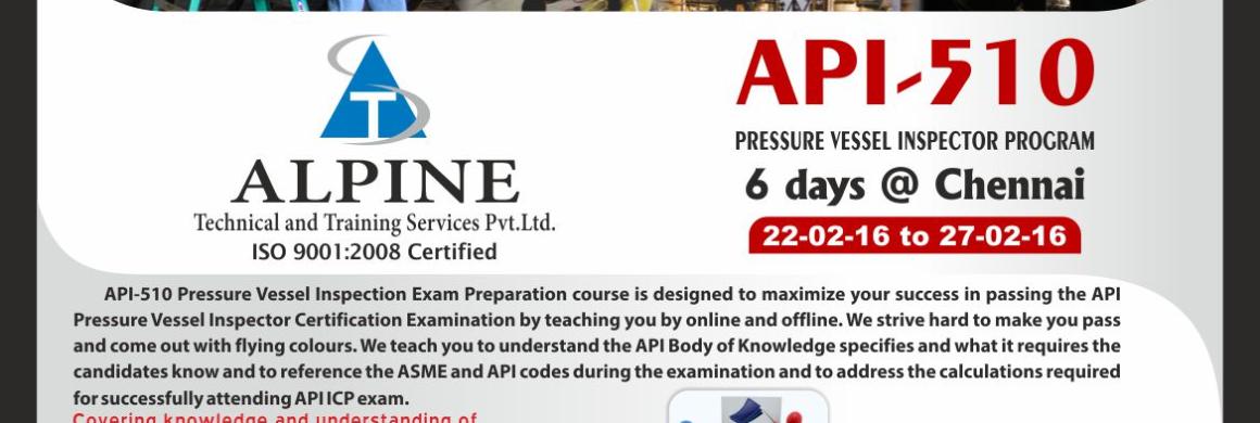 API-510_ALPINE_CHENNAI